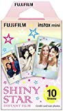Fujifilm Instax Mini Instant Film, Shiny Star, Einzelpackung