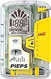 PIEPS DSP Pro Ice LVs-gerät, Transparent/Yellow, 11.5 x 7.5 x 2.8 cm