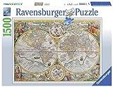 Ravensburger 16381 - Historische Weltkarte - 1500 Teile Puzzle