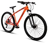 Collective Bikes Mountainbike 29 Zoll MTB Hardtail C100 Wheelie Fahrrad 2 Farben (orange)