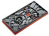Bosch DIY Schleifplatte (für Bosch Multischleifer PSM 200 AES, 93 x 185 mm)