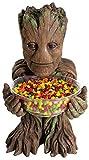 Rubie's Groot Candy Bowl Holder, H40 cm, Süßigkeitenspender, Marvel Universum, Superhelden Figur, Dekoration mit stabilem Stand
