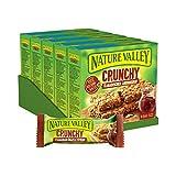 Nature Valley Crunchy Kanadischer Ahornsirup, Müsliriegel, 5er Pack (5 x 210g Multipack mit je 10 Riegeln)