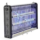 JBHOO Neue Upgrades Insektenvernichter Elektrisch 20W UV Insektenvernichter Lampe, InsektenKiller Insektenfalle Elektrisch Mückenfalle gegen Mücken, Fliegen, Moskitos Für Innen Schlafzimmer Gärten