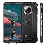 OUKITEL WP8 Pro (2020) Outdoor Handy, 4G Dual-SIM Smartphone Ohne Vertrag, 6,49' HD+ Display IP68 Wasserdichter, 4GB 64GB Android 10, 5000 mAh,16MP Triple Kameras, Face/Fingerprint ID, NFC (Schwarz)