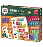 Jumbo Spiele 19565 ich lerne lesen Lernspiel für Kinder, Ab 5 Jahren