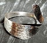 Armspange'Snake' aus 835er Silber