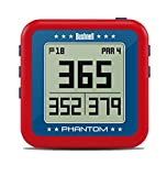 Bushnell Phantom Golf GPS, Unisex, 368821, rot/blau, Einheitsgröße