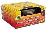 Favorit Mückenspirale + Metalltopf, bronze – Insektenschutz Wirkzeit ca. 5 Stunden, inkl. 10 Spiralen – 1288A