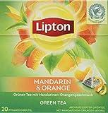 Lipton Tee (für einen aromatischen Geschmack Mandarin Orange aus nachhaltigem Anbau)
