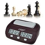 Kompakte Digitale Schachuhr Countdown Timer Elektronische Brettspiel-Spieler Set