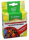 Dr. Stähler Kastanienminiermotte Lockstoff, 3 Dispenser