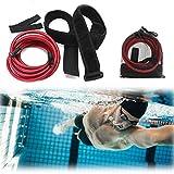iClosam Schwimmtrainer Schwimmgürtel 2/3/4 Meter, Schwimmgurt Sicherheit Pool Einstellbarer Schwimmwiderstandsgürtel schwimmgurt Kinder/Erwachsene für Schwimmtraining