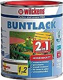 Wilckens 2in1 Buntlack seidenmatt RAL 7016 Anthrazitgrau 750 ml