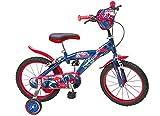 16 16'Zoll Kinderfahrrad Kinder Disney Jungen Fahrrad Rad BMX Spiderman Bike ES