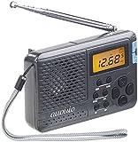 auvisio Kofferradio: 12-Band-Weltempfänger FM/MW/KW, mit Wecker & Sleeptimer (Kleines Radio)
