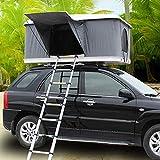 LMHX 2-3 Erwachsene Dachzelt Autodachzelt Fahrzeugzelt, Mit Faltleiter