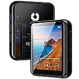 MP3 Player, 16GB Bluetooth 5.0 MP3 Player mit 1.8' Touchscreen, HiFi Verlustfreier Ton Musik Player mit Lautsprecher, FM Radio, E-Book, Video Player, Schrittzähler, Speichererweiterbar bis zu 128 GB
