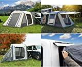Reimo Tent Technology Aufblasbares Busvorzelt Tour Breeze Air S, Tunnelzelt (9329936551)