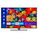 MEDION S16565 163,8 cm (65 Zoll) UHD Fernseher (Smart-TV, 4K Ultra HD, Dolby Vision HDR, Micro Dimming, MEMC, WCG, Netflix, Prime Video, WLAN, DTS Sound, PVR, Bluetooth)