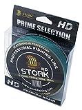 Stork HD, 4-Fach geflochtene Angelschnur 300m (Moosgrün, 30 lbs / 13.6 kg / 0.23 mm)