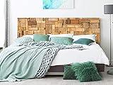 Kopfteil Bett Pegasus Rechtecke aus Holz | Verschiedene Maße 200x60cm | Einfache Platzierung | Raumdekoration | Landschaftsmotive | Natur | Urbes | Multicolor | Elegantes Design