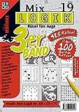 Mix Logik 3er-Band Nr. 19 (Mix Logik 3er-Band / Logik-Rätsel): Rätsel fürs Auge