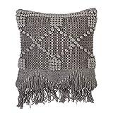 Bloomingville Cushion, Grey, Cotton L50xW45 cm