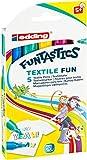 edding 4-17-5 Funtastics Textilmarker Fun, 5-er Set, 2-3 mm, sortiert