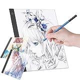Aibecy LED A3 Leuchttisch Grafiktablett Light Pad Digitales Tablet Copyboard mit 3 stufiger, dimmbarer Helligkeit zum Nachzeichnen von Zeichnungen