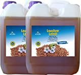 10 Liter Leinöl (2 x 5 Liter) Lausitzer kaltgepresst ohne Konservierungsstoffe kostenlose Lieferung