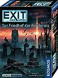 KOSMOS EXIT - Das Spiel - Der Friedhof der Finsternis, Level: Fortgeschrittene, für 1 bis 4 Spieler ab 12 Jahre, einmaliges Event-Spiel, spannendes Gesellschaftsspiel
