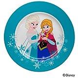 WMF Disney Frozen Kindergeschirr Kinderteller, 19,0 cm, Porzellan, spülmaschinengeeignet, farb- und lebensmittelecht