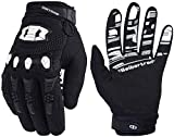Seibertron Dirtpaw Unisex rutschfeste Bike Bicycle Cycling/Radsport Racing Mountainbike Handschuhe für BMX MX ATV MTB Motorcycle Motocross Motorbike Road Off-Road Race Touch Screen Gloves Black S