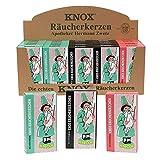 Knox Räucherkerzen 25er Set Ostalgie Tanne/Weihrauch/Sandel 3-Fach sort. 33 x 115 x 13 cm im Set