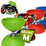 Mister M Das Ultimative Diabolo Set (Grün)