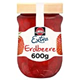 Schwartau Extra Erdbeere, Konfitüre, 6er Pack (6 x 600 g)