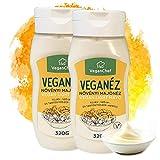 Veganese Mayonnaise- Vegan und Light Mayo, Ei-Laktose- und Glutenfrei, ohne Palmöl, ohne Konservierungsmittel und Farbstoffe, 2erPack(2x 320ml)