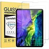 Gerutek [2 Stück] Schutzfolie für für iPad Pro 11 (2020 & 2018), 9H Härte, 2.5D, Hülle Freundllich, Anti-Kratzen, Anti-Bläschen Schutzglas Displayschutz Panzerglas für iPad Pro 11 Zoll (2020 und 2018)