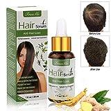 Haarserum, Anti-Haarausfall, Haarwachstums-Serum, natürliche Kräuteressenz, Anti-Haarausfall Haar Serum, für dünner werdendes Haar, Verdickung und Nachwachen, für schnelles Haarwachstum
