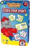 Schmidt Spiele 51407 Benjamin The Elephant 51407-Benjamin Blümchen, blau