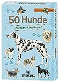 moses. Expedition Natur - 50 Hunde   Bestimmungskarten im Set   Mit spannenden Quizfragen