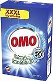 Omo Vollwaschmittel für strahlende Sauberkeit Intensive Leuchtkraft XXXL mit Leuchtkraft-Booster 100 WL 1 Stück