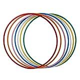 hoopomania® Hula Hoop Rohling, PE-20mm, SCHWARZ, Durchmesser 90cm