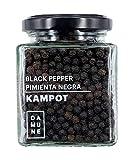 Schwarzer Pfeffer Kampot ganz - Premiumqualität - Neue Ernte 06/2020 - 120g