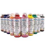 Fingermalfarbe 10er Set je 500ml Farbe Fingermalfarbe vom Hersteller € 6,98/L