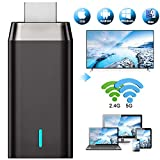 Wireless WiFi Display Dongle, DIWUER Drahtloser Display Empfänger HDMI Dongle für iOS Android Smartphones Tablets Windows Mac OS Laptops zum HDTV Projektor Monitor