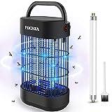 FOCHEA Insektenvernichter, Elektrisch Ultravioletter LED Insektenlampe Indoor Mückenfalle Insektenfalle mit UV-Licht, Effektive Bekämpfung von fliegenden Insekten, Um Mückenstiche zu Vermeiden