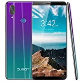 CUBOT X19 4G LTE Smartphone ohne Vertrag Handy 5.93″ FHD Display Android 9.0 64GB Speicher 4GB RAM 4000mAh Akku Dual-Kamera Dual-SIM (Twilight)