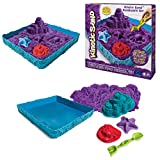 Kinetic Sand 6024397- Sand Box Set lila